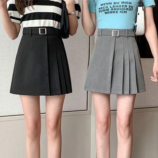 Termane - Pleated Mini Skirt
