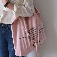 Bagaz - Lettering Canvas Bag