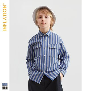 Wolandorf - Kids Long-Sleeved Striped Shirt