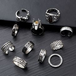 Tinseltown - Stainless Steel Ring (Various Designs)