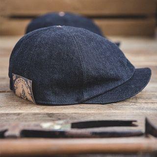 Maden - Denim Newsboy Cap