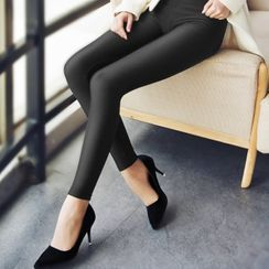 Anyoung - Plain Leggings