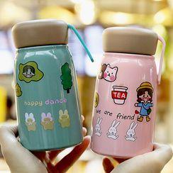 MUMUTO - 卡通印花保溫瓶