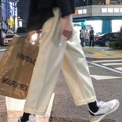 Tiaota - 水洗直筒牛仔褲