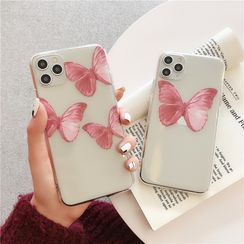 Ruggal - Butterfly Phone Case - iPhone 11 Pro Max / 11 Pro / 11 / SE / XS Max / XS / XR / X / SE 2 / 8 / 8 Plus / 7 / 7 Plus