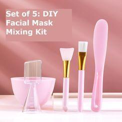 Home Simply - Set of 5: DIY Facial Mask Mixing Kit