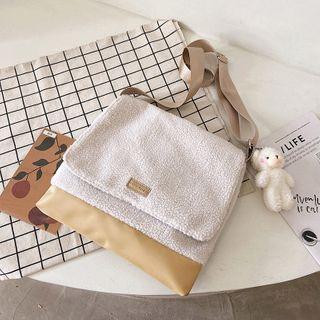 Lizzy - Fluffy Crossbody Bag / Charm / Set