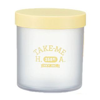Hakoya - Hakoya Salad Jar 350ml (Take Me) (Yellow)