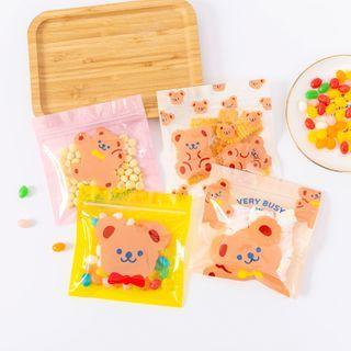 Fun House - Bear Print Plastic Food Bag