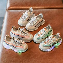 Taemi - Kids Color Panel Sneakers