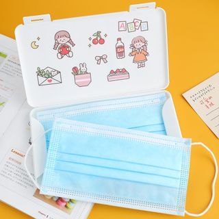 Candy Lemon - Plastic Surgical Mask Storage Box