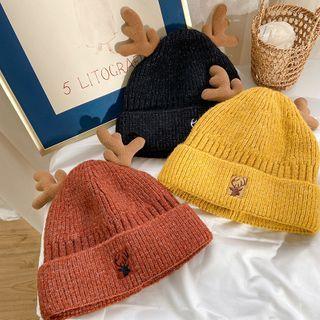 FROME - Deer Horn Knit Beanie