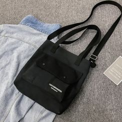 Bag Gang - Canvas Crossbody Tote Bag