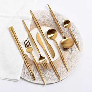 miss house - Stainless Steel Chopsticks / Fork / Knife / Spoon