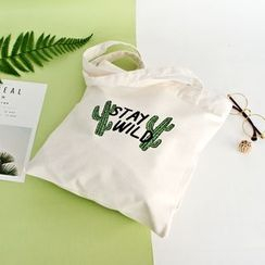 Cady - 印花帆布手提袋