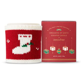 innisfree - Scented Candle Dreaming Of Santa 130g (2018 Green Christmas Limited Edition)