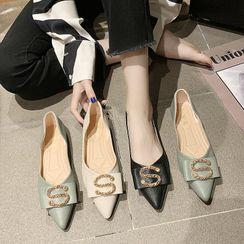 hunigala - 字母S平跟鞋