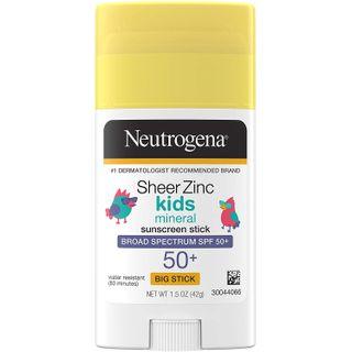 Neutrogena - Sheer Zinc Spf#50+ Kids Stick