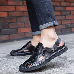 Auxen - Stitched Sandals