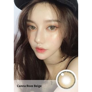 i - DOL - Canna Roze Yearly Color Lens #Beige Brown