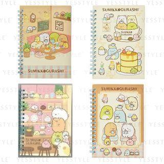 SunToys - San-X Sumikko Gurashi Coffee Time Notebook - 4 Types