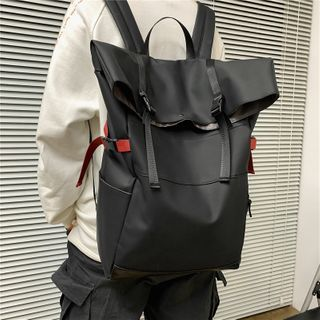 Gokk(ゴック) - Plain Snap Buckle Backpack
