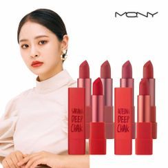 MACQUEEN - Air Deep Kiss Lipstick - 6 Colors