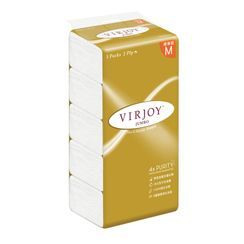 Hapi - Virjoy Jumbo Soft Pack Facial Tissue 2-Ply (M Size) (5 Packs)
