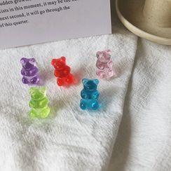 Cometto(コメット) - Acrylic Gummy Bear Earring