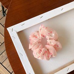 Bmuse - Floral Print Scrunchie