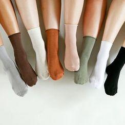 Full House - daily like-Plain Socks