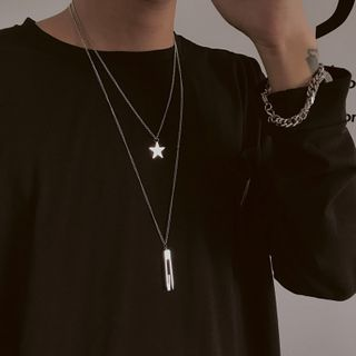 InShop Watches - Alloy Star / Letter G Necklace  / Set