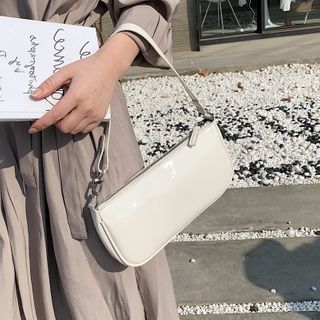 KOCORE - Faux Leather Zip Handbag