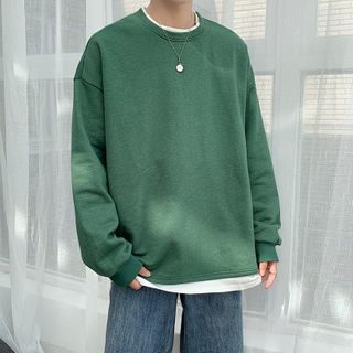 Obikan - Mock Two-Piece Pullover