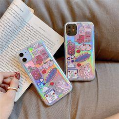 Casei Colour - 印花手機保護套 - iPhone 11, 11 Pro, 11 Pro Max, XS Max, X/XS, XR, 8p/7p, 8/7