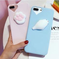 Gadget City - 3D Animal Phone Case - iPhone 7 / 7 Plus / 6S / 6S Plus