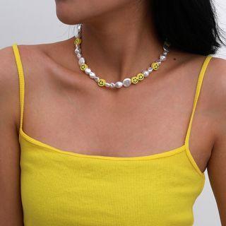 Seirios - Smiley Face Necklace