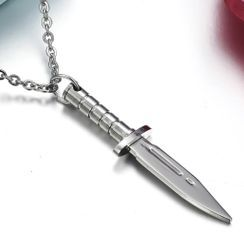 Tenri - Knife Pendant Stainless Steel Necklace