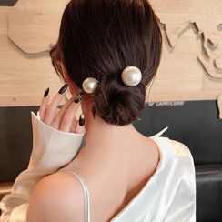 Pop Lop - Faux Pearl Hair Pin