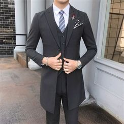 Deepwood - Set: Blazer + Dress Vest + Dress Pants