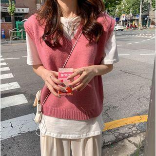 CaraMelody - Plain Knit Vest