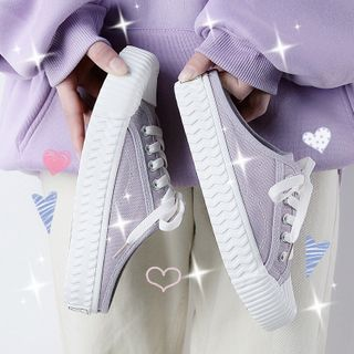 PAMME Canvas Mule Sneakers   YesStyle