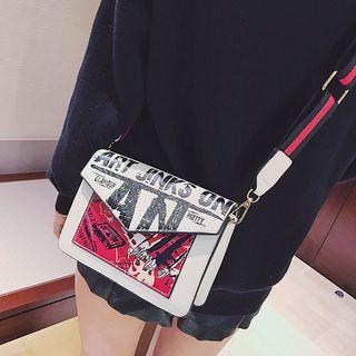 Diamante - Printed Shoulder Bag
