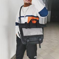 Youme - Roll Top Messenger Bag