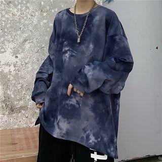 Banash - Tie-Dye Long-Sleeve Sweatshirt