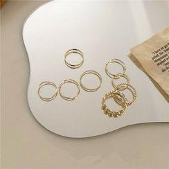 Mojia - Metal Ring Set