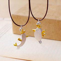 Nisen - 鸟吊坠项链