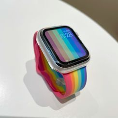 Phone in the Shell(フォーンインザシェル) - Frosted / Clear Apple Watch Protection Case