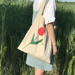 TangTangBags(タンタンバッグズ) - Flower Print Tote Bag