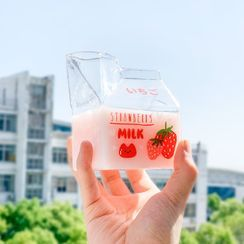 KITCHI - Milk-Carton Glass Water Mug